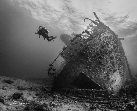 The Giannis D, Red Sea. by Steven Doyle