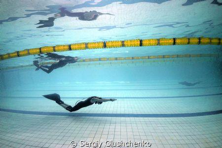 Freediving DYN by Sergiy Glushchenko