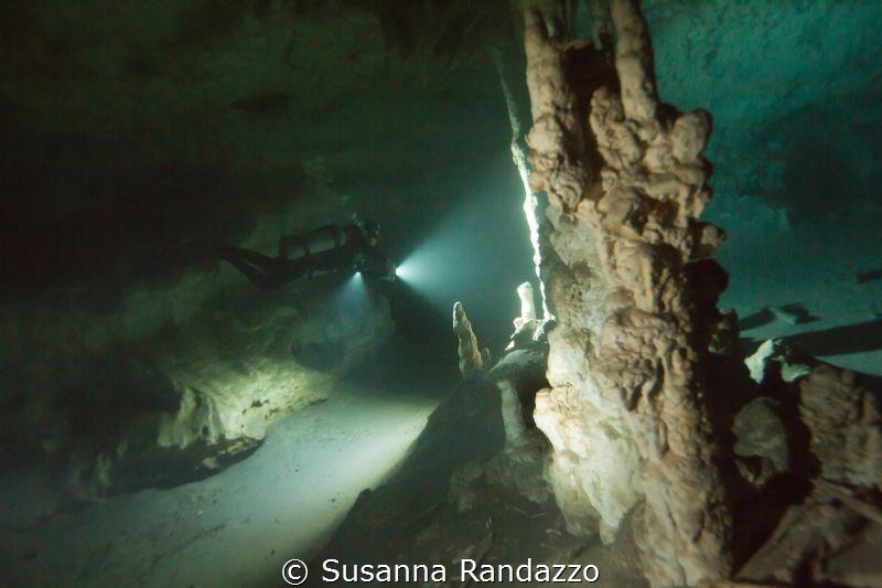 cave diving Riviera Maya by Susanna Randazzo