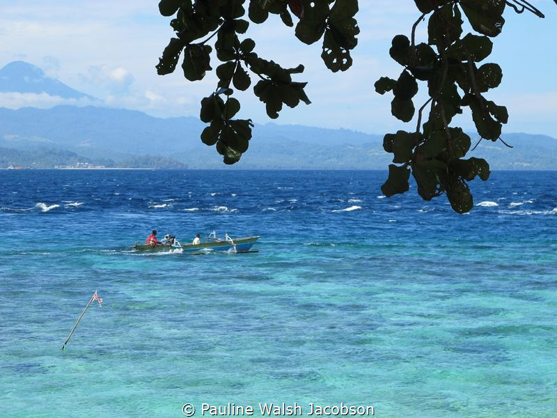 Fishing Boat, Bangka Island, Indonesia by Pauline Walsh Jacobson