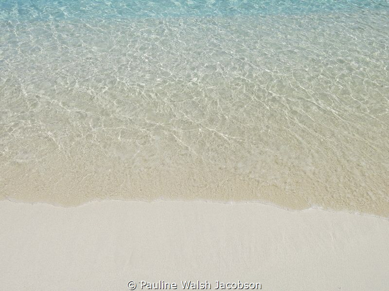 The crystal clear water of Hawksnest Bay, St. John, U.S. ... by Pauline Walsh Jacobson