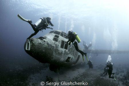 Hercules C 130 by Sergiy Glushchenko