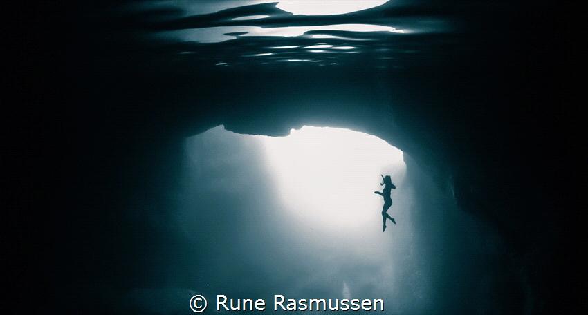below - monochrome by Rune Rasmussen
