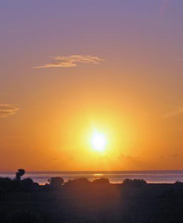 blazing sunset, lembongan island. Indonesia by Penny Murphy