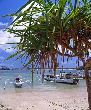 Outriggers, Nusa Lembongan - Indonesia by Penny Murphy