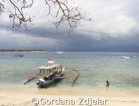 Mermaid in Gili Trawangan by Gordana Zdjelar