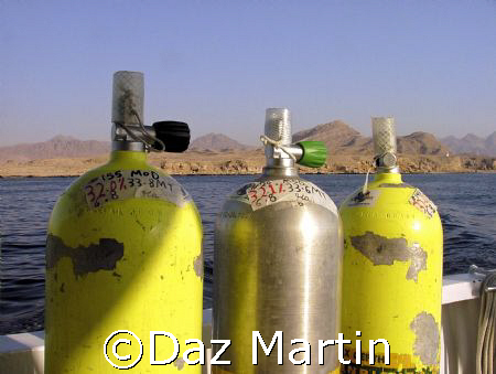 Steaming out of Sharm Aug 2006. Taken with my  Sea and Se... by Daz Martin