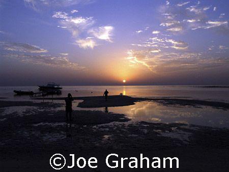 Sunrise near Marsa Alam. Egypt. :) by Joe Graham