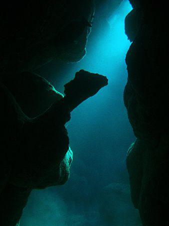"""The Camel Reef"", Cavern at El Quadim Bay, El Quseir,  Ol... by Henry Jager"