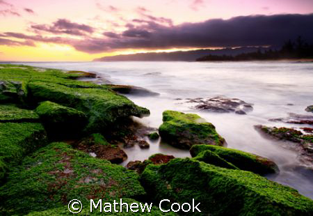 """Island Sunset"" This photo was taken on Oahu, Hawaii's no... by Mathew Cook"