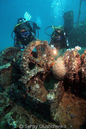 Wreck Stella Maru by Sergiy Glushchenko