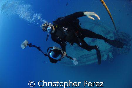 COMCAM Unnderwater Photographer by Christopher Perez