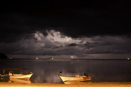 Storm over Perhentians... by Soren Egeberg