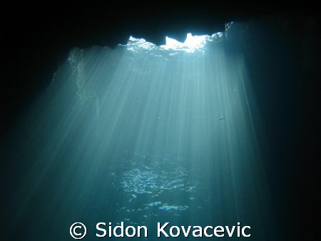 zaklopatica cave on island korcula croatia by Sidon Kovacevic