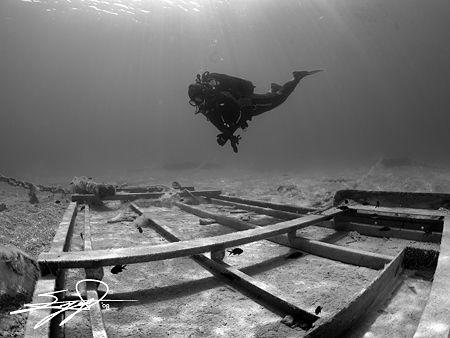 Underwater Structure by Nicholas Samaras