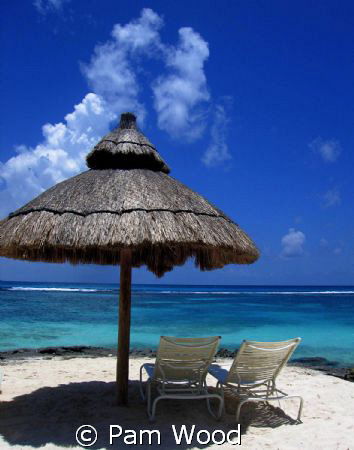 Don't you just want to sit down and have a Corona here?  by Pam Wood