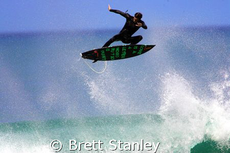 Epic day of waves at Winki Pop next to Bells Beach in Vic... by Brett Stanley