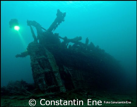 "Perfect divingday on the wreck ""Belgica"", 14.02.2009. by Constantin Ene"