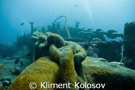Yet another classic Thistlegorm shot by Kliment Kolosov