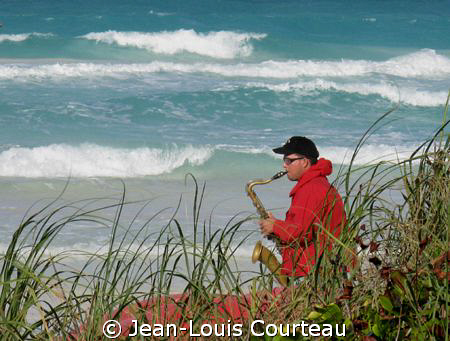 """Big Blue Blues""    On that day and the next 3, because o... by Jean-Louis Courteau"