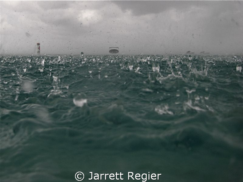 Taken as a storm passes through the Island. Canon SD750 w... by Jarrett Regier