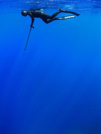 Spearfishing in Crete, Greece by Charalampos Stratoudakis