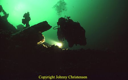 In cold and dark water, there is plenty of excitement to ... by Johnny Christensen