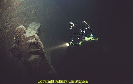 Humbled by the size of the anchors from the wreck of CF L... by Johnny Christensen