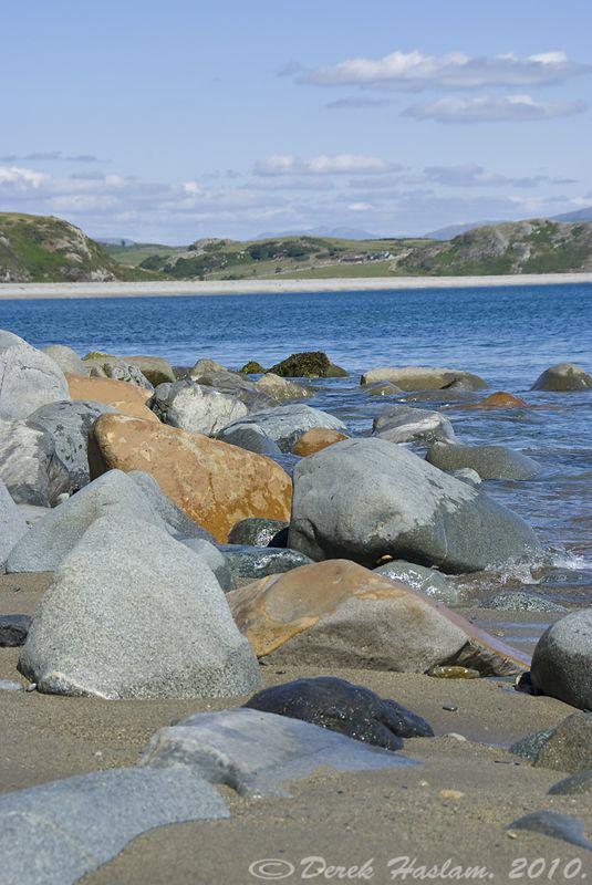 Criccieth beach. S5PRO, 18-200mm. by Derek Haslam
