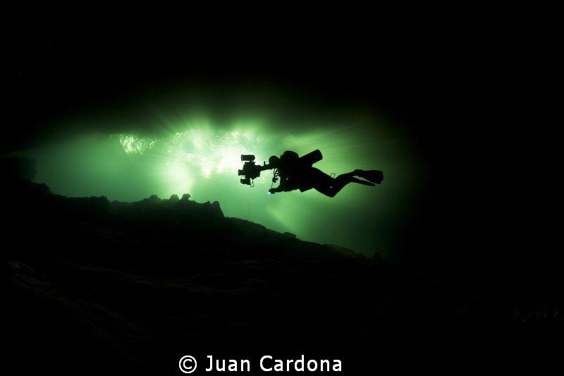 chac Mool Cenote by Juan Cardona