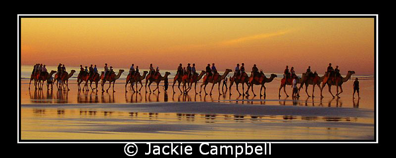 Sunset...cable beach.....This place gets some of the most... by Jackie Campbell