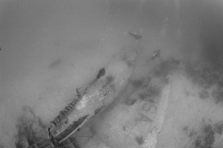 Roatan - shore dive from Fantasy Island. Nikon F80 w/16mm... by Ian Brooks