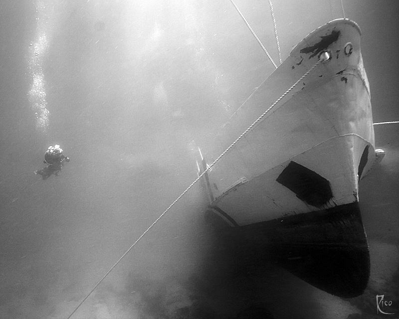 Patrol Boat 119 - I took this shot 13 minutes after this ... by Rico Besserdich