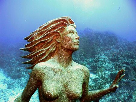 Waiting for a diver to kiss her on the lips and turn her ... by Michael Canzoniero
