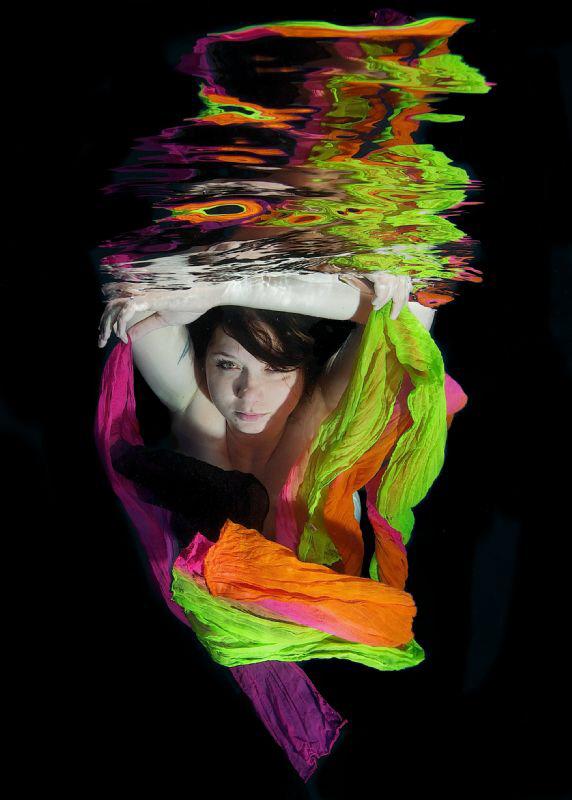 Scarfs reflection by Lucie Drlikova