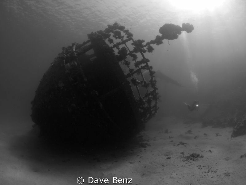 One of the beautiful wrecks at Marsa Alam, Egypt. by Dave Benz