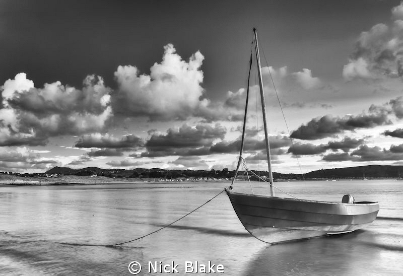 Ebbing tide at Abersoch, North Wales by Nick Blake