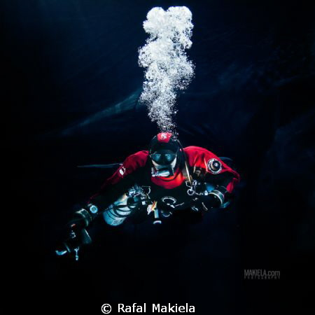 diver Andrzej Kruczkowski by Rafal Makiela