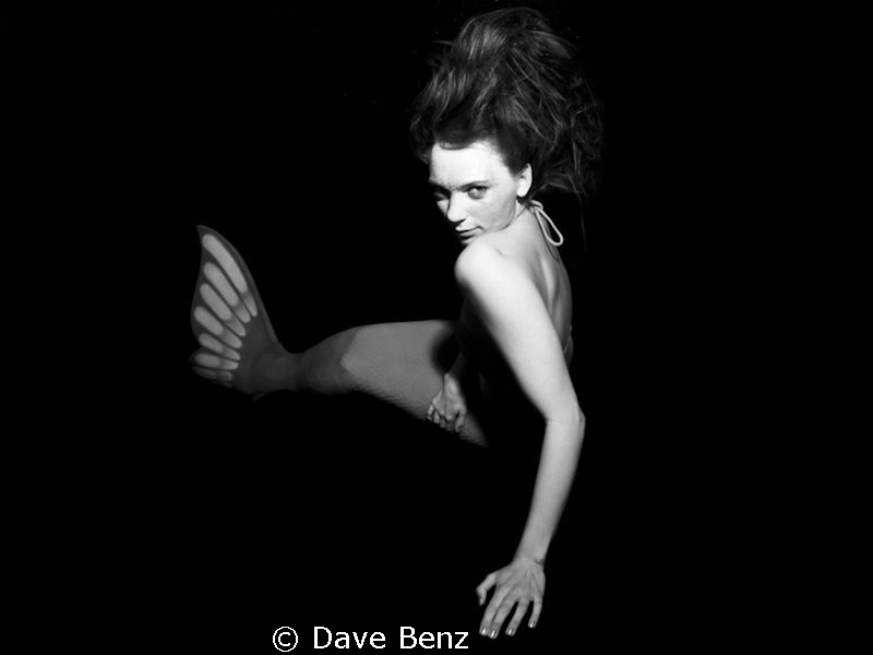 Underwatershooting with german actress Anna Kaminski as a... by Dave Benz