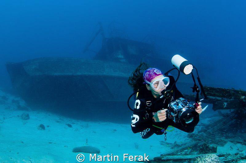 Wreck photographer by Martin Ferak