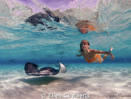 The girl in the picture is my firstborn and she saw the l... by Ellen Cuylaerts