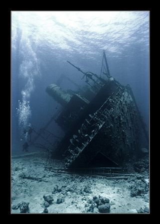 Wreck of the Ghiannis D, in Sinai, Red Sea. Good visibili... by Johannes Felten
