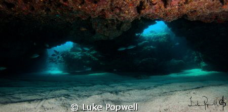 Sand Bottom Cave by Luke Popwell