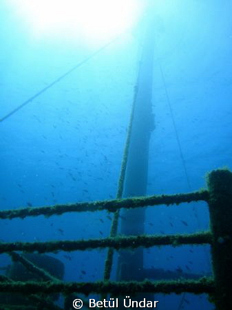 rising sun on the wreck... Monem Wreck
