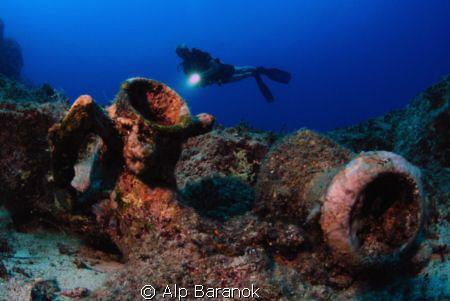 Amphoras and my great buddy Rico Besserdich. Taken with N... by Alp Baranok