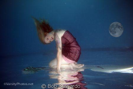 Moon Surfer by Bob Bernardo