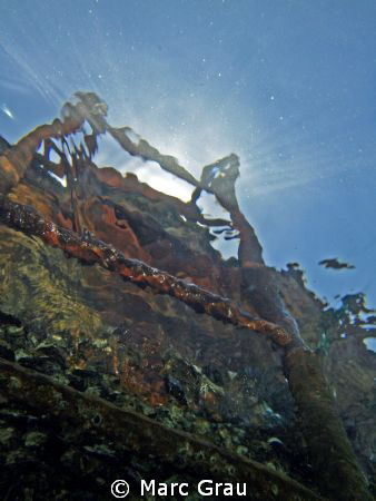 Wreck in Korambado beach, Djibouti Ville by Marc Grau