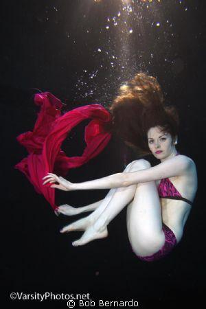 In the pool with Liz by Bob Bernardo