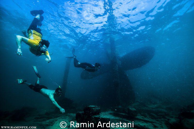 MY PERSIAN GULF  by Ramin Ardestani