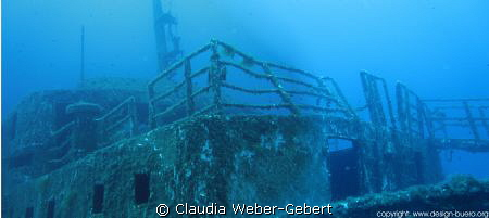 Karwella wreck by Claudia Weber-Gebert